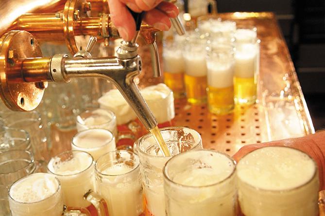 Malz im Bier