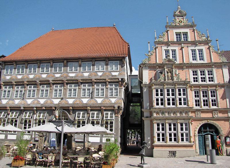Altstadt in Hameln - Weserbergland