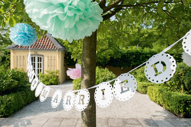 Hochzeitsdeko im Hardenbergschen Haus