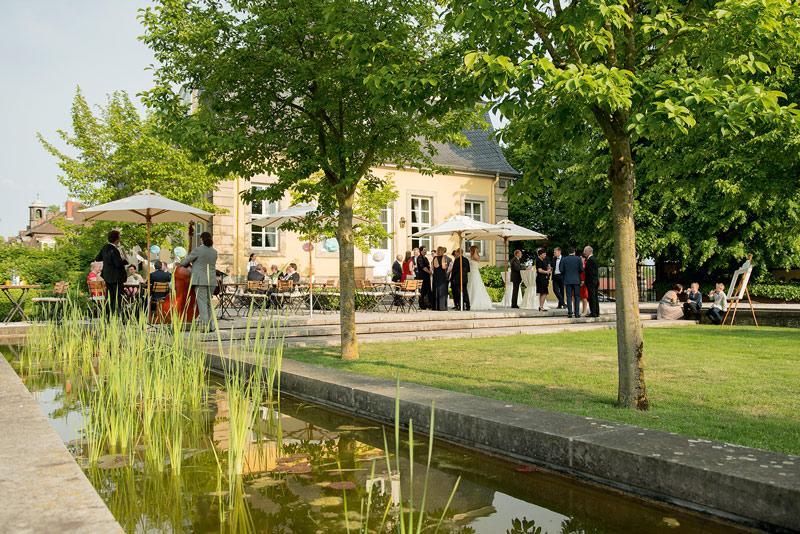 Hardenbergsches Haus Hochzeitsgesellschaft