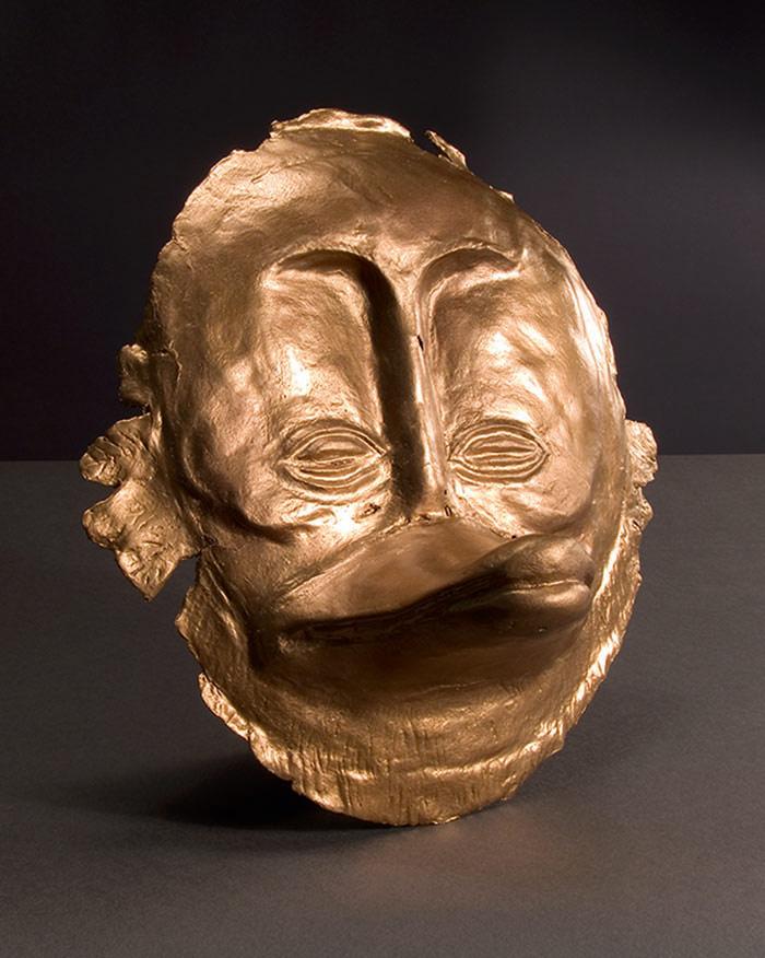 Goldmaske des Agamemdux - Duckomenta Hannover