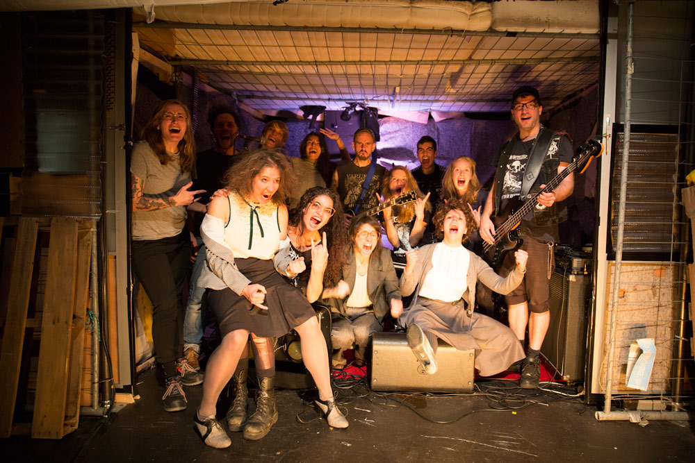 Stück aufgeführt in Theater Glocksee