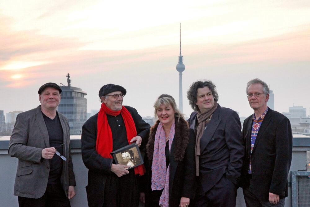 Die Künstlergruppe Interduck aus Berlin