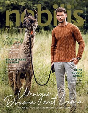Cover der aktuellen Ausgabe Nobilis September