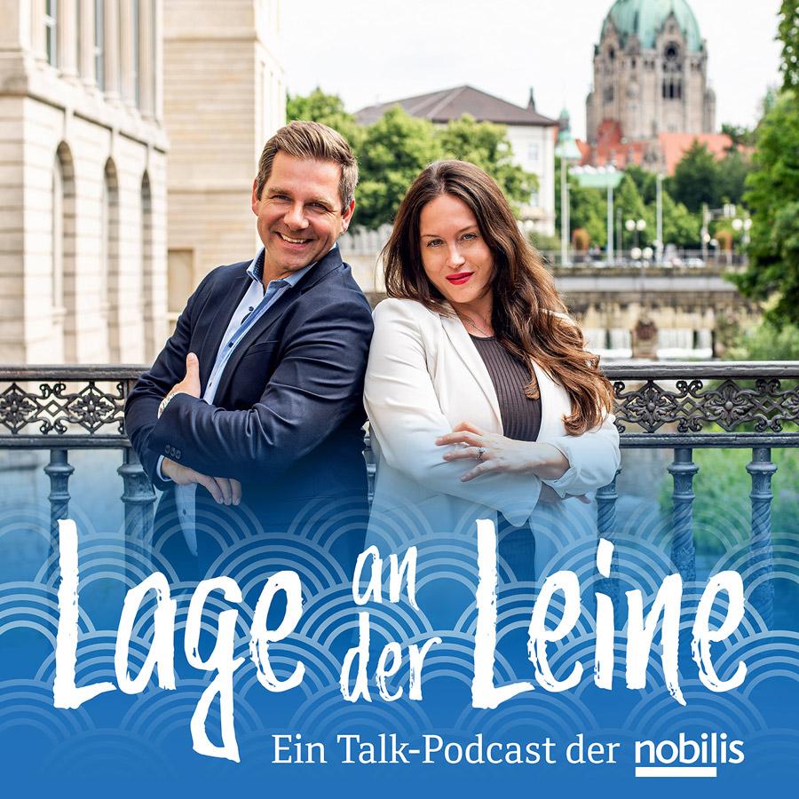 Titelbild Podcast Hannover Lage an der Leine mit Marleen Gaida und Kevin Kratsch