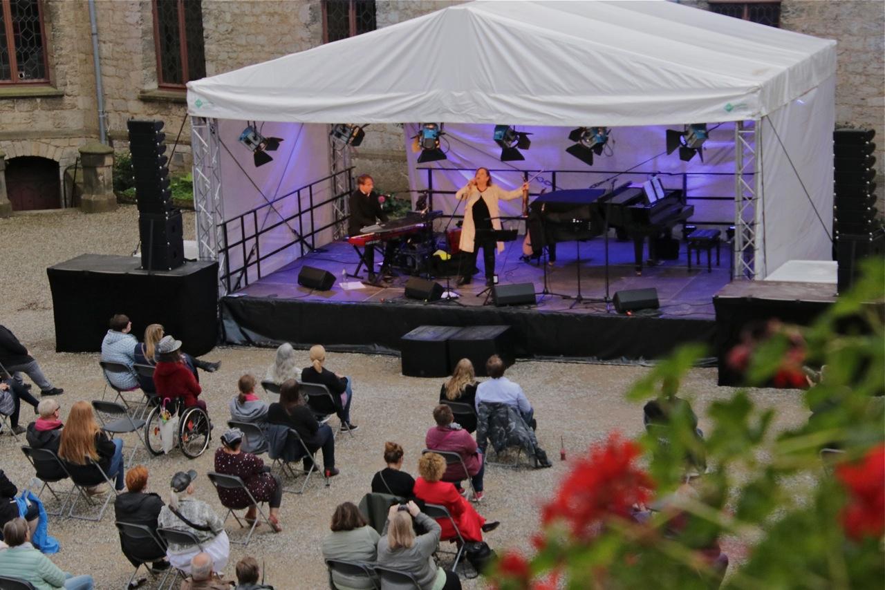 Konzertbühne in der Marienburg
