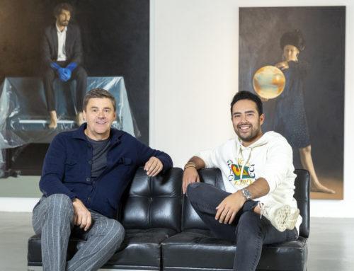 Werbefilmer Eduardo D. Baptista-Garcia für Filmdreh im Kunsthaus