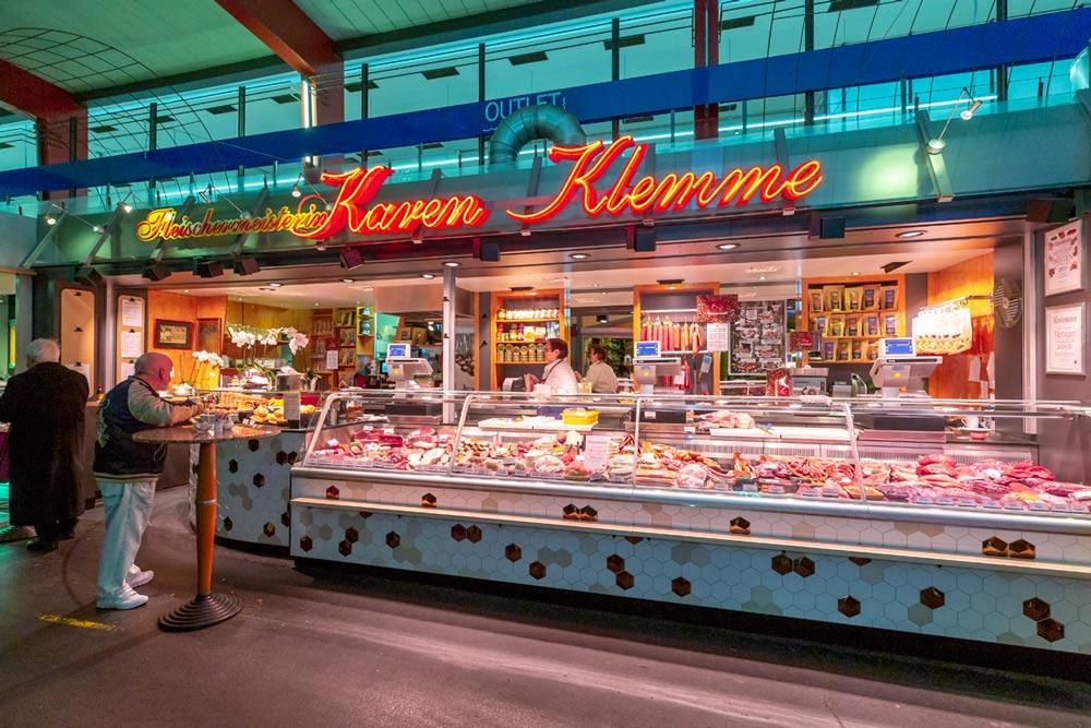 Markthallenstand von Karen Klemme