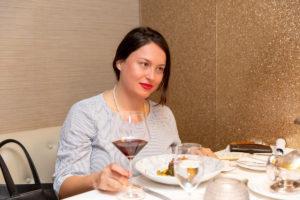 Marleen Gaida beim Interview mit Laura Berman