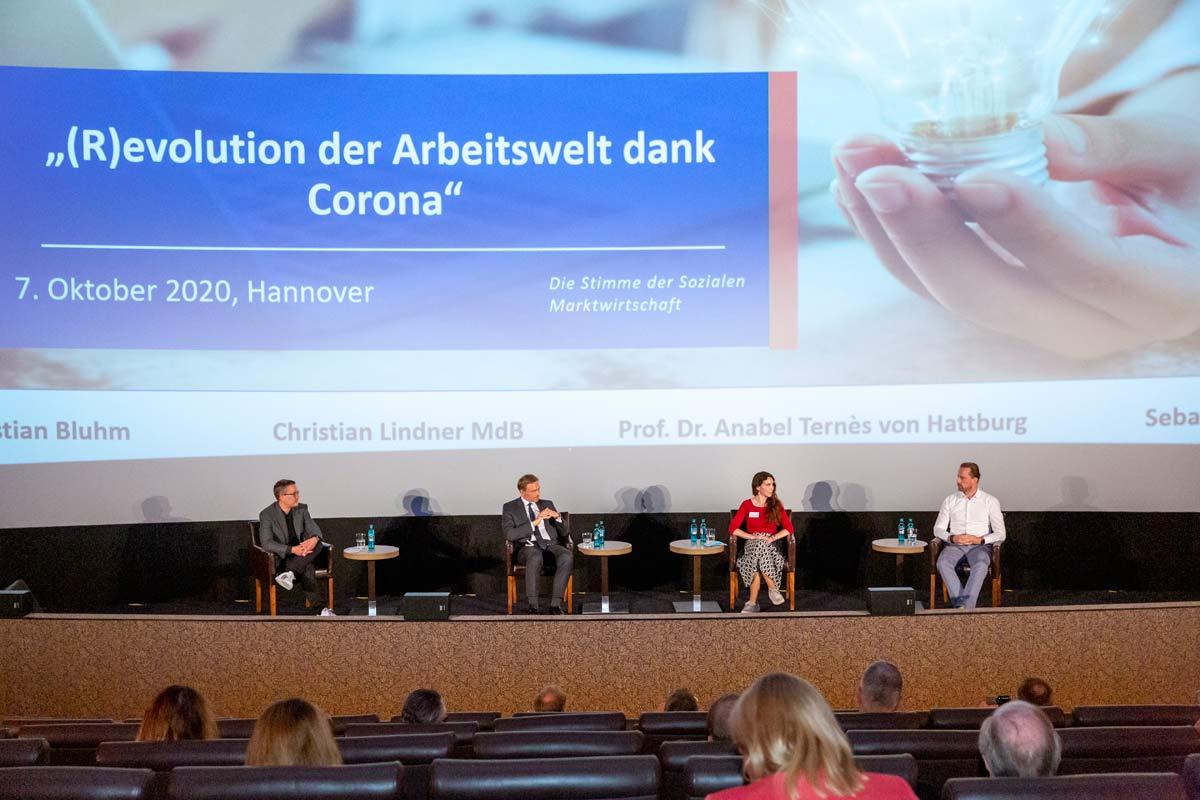 DIskussion mit Christian Lindner über die DIgitalisierung des Mittelstands