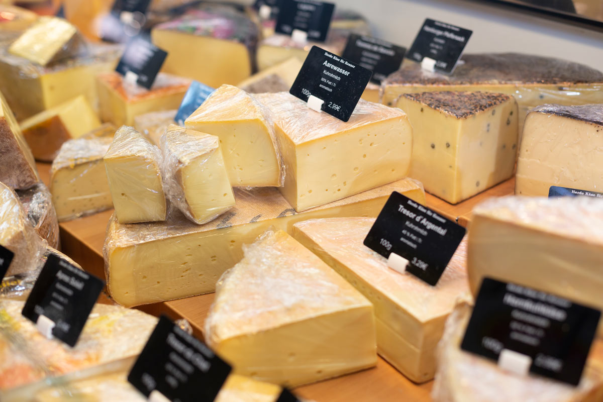 Käsespezialitäten in der Markthalle Hannover
