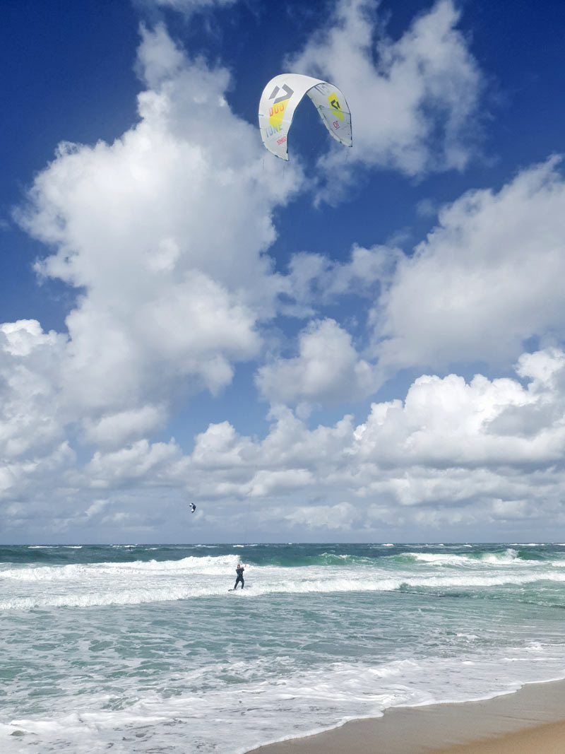 Kite-Surfer auf Sylt