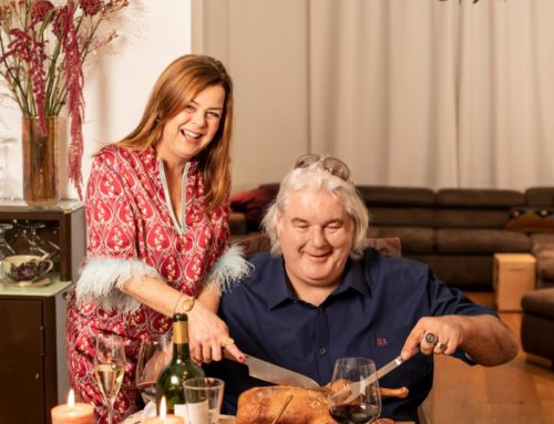 Weihnachtsessen bei Christoph Elbert und Verena Schindler