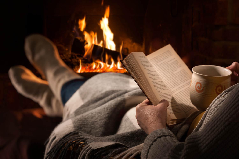 Lesen an Weihnachten