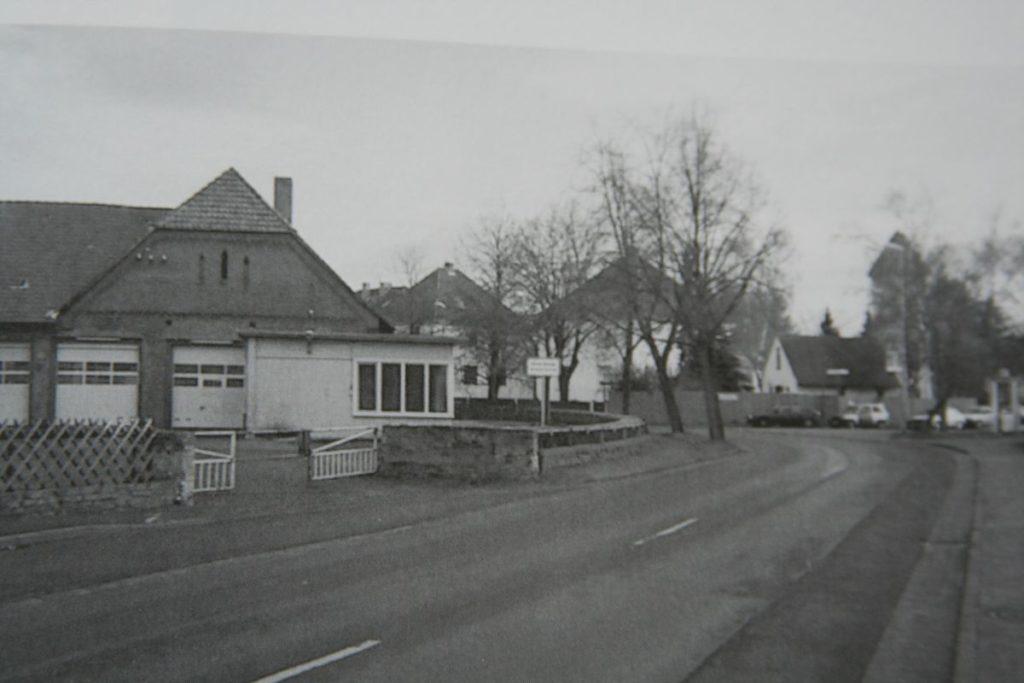 Das alte Gebäude des heutigen bauhofs Hemmingen
