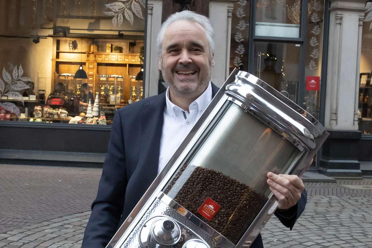 Inhaber der Kaffeemanufaktur Andreas Berndt