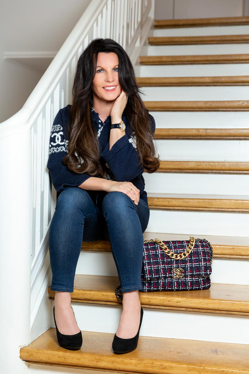 Sandra Simchen hat viele Handtaschen