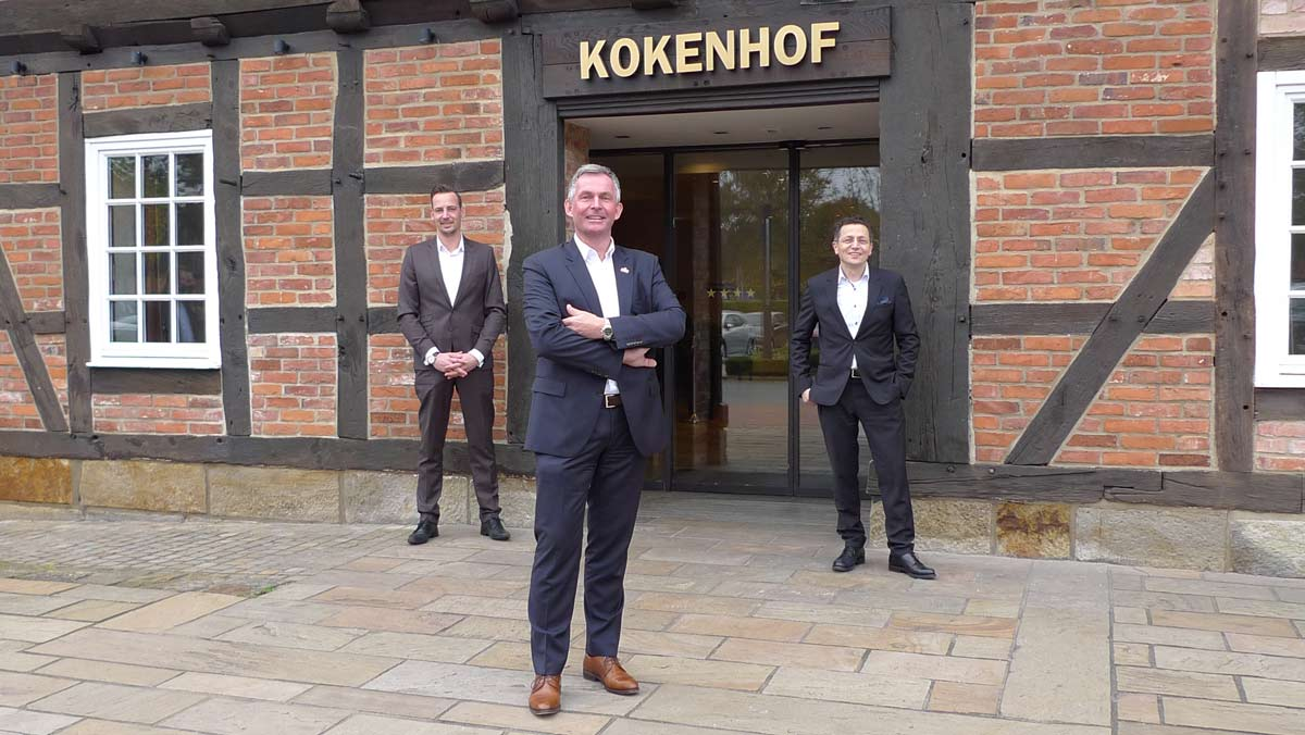 Andreas Hüttmann, Party Löwe Hannover, ist neuer Pächter im Hotel Kokenhof