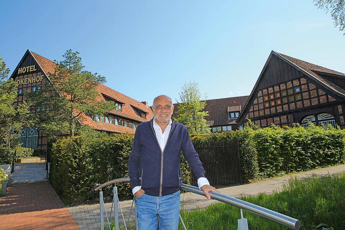 Martin Kind, Besitzer vom Hotel Kokenhof