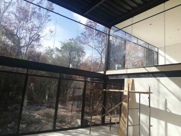 Das Haus von Marisol Prada in der Bauphase