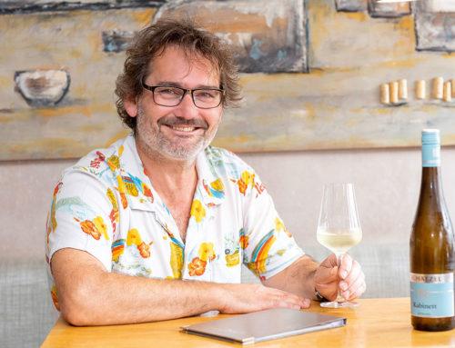 Mini-Oase des Weins: der Weinraum